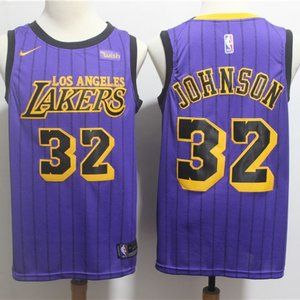NEW Nike Los Angeles Lakers Magic Johnson Jersey
